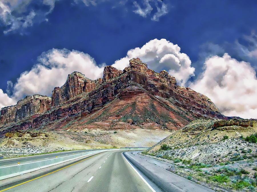Utah Scenic Highway Photograph