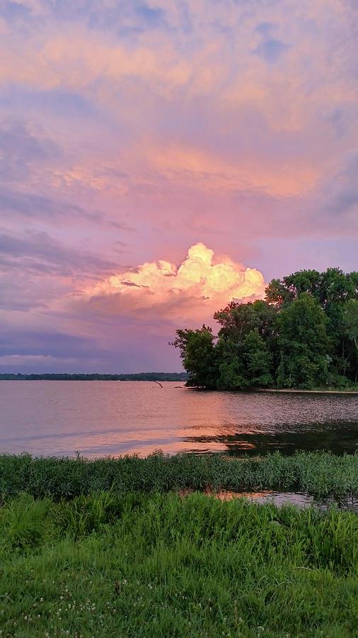 Utopian Summer Sunset Photograph