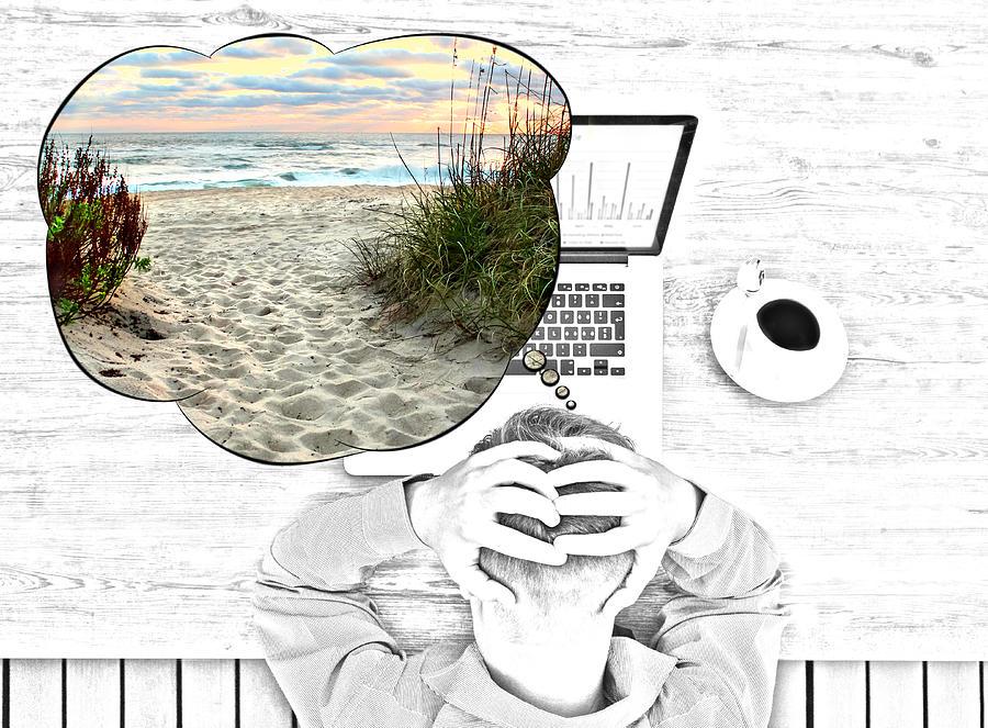 Vacation Needed Digital Art