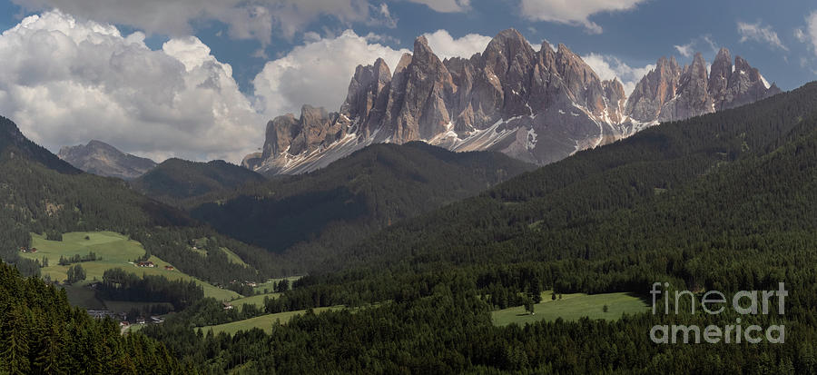 Val Di Funes Photograph