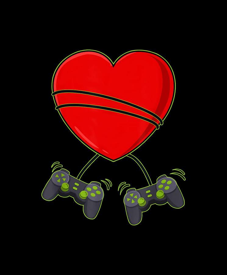 Valentine Game Digital Art