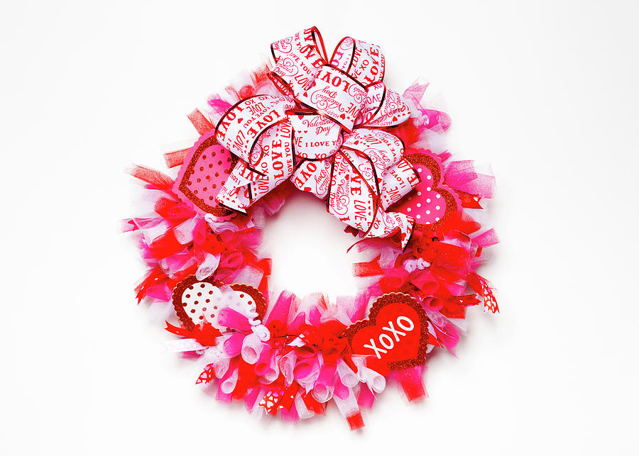 Valentine's Day Craft Wreath by SR Green