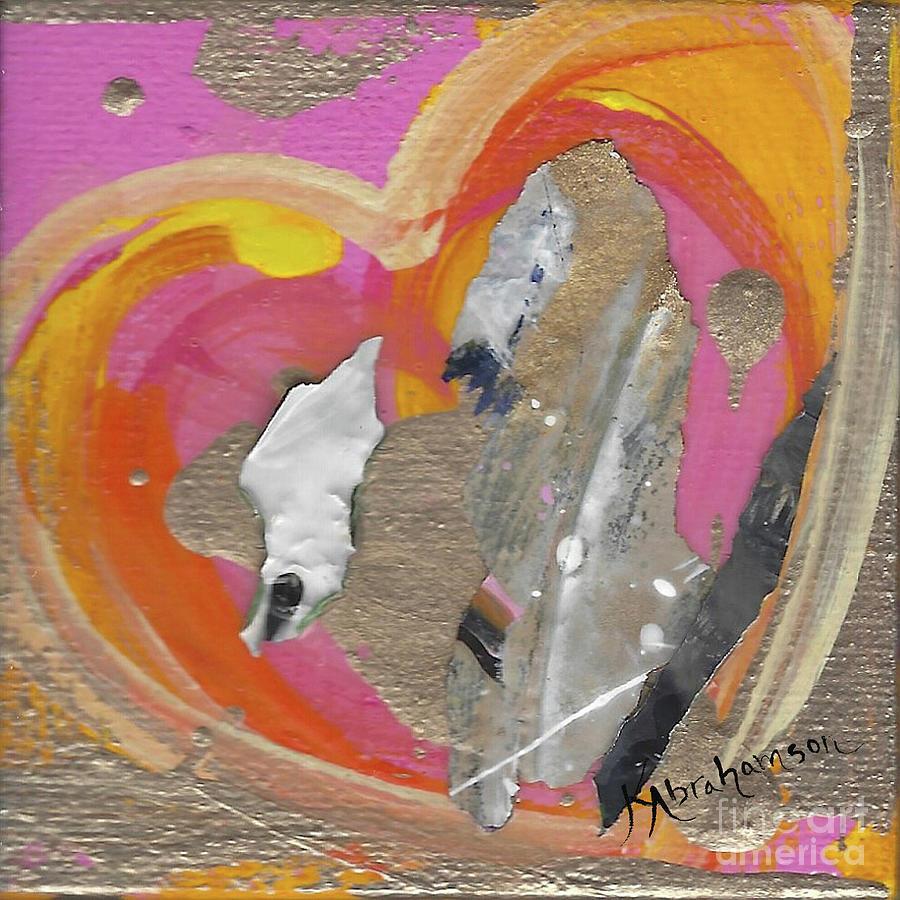 Valentine's Heart 2020 #3 by Kristen Abrahamson