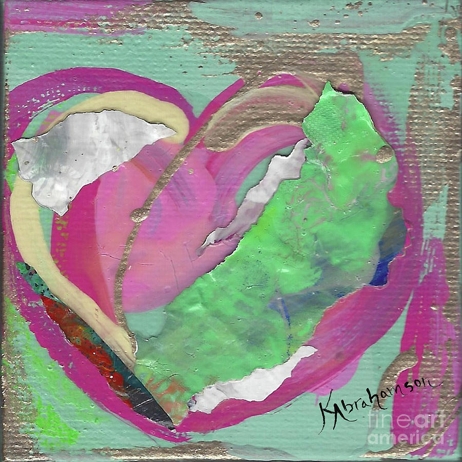 Valentine's Heart 2020 #6 by Kristen Abrahamson