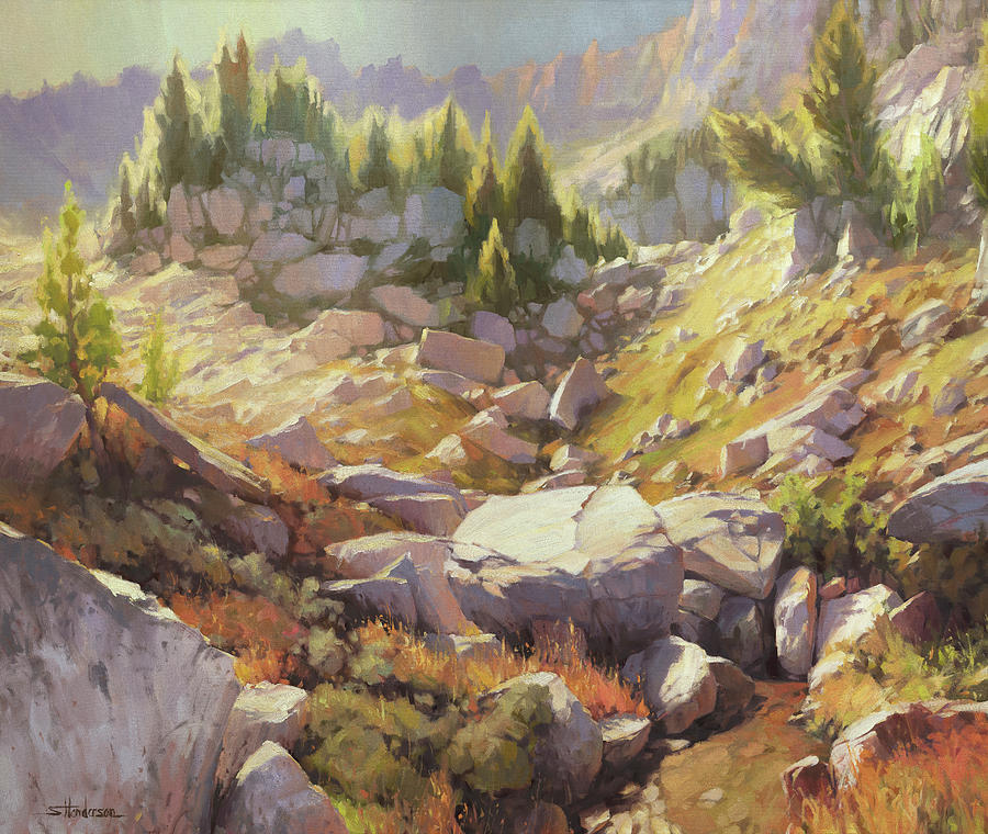 Valley Of Stones Painting