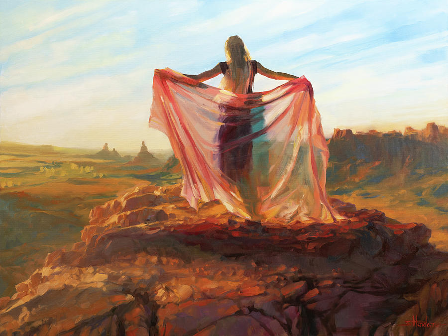 Valley Of The Goddess Painting