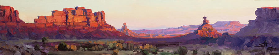 Valley Of The Gods Painting