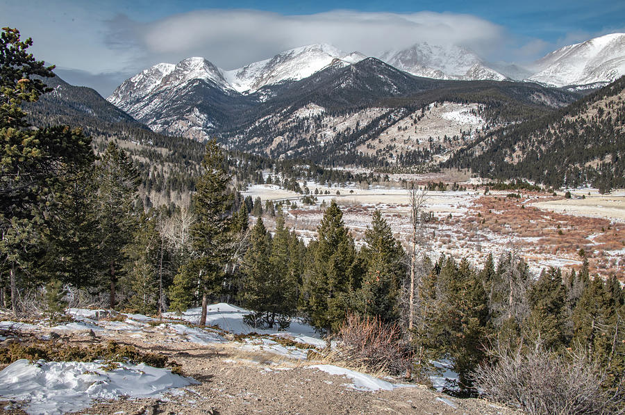 Valley View From Horseshoe Park, Rocky Mountain National Park by Marcy Wielfaert