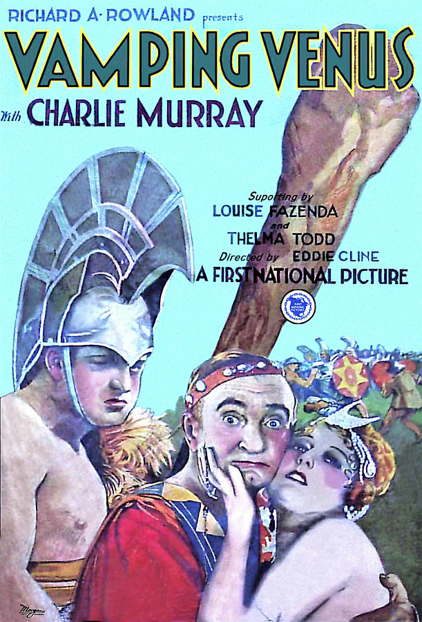 vamping Venus, 1928 - B Mixed Media