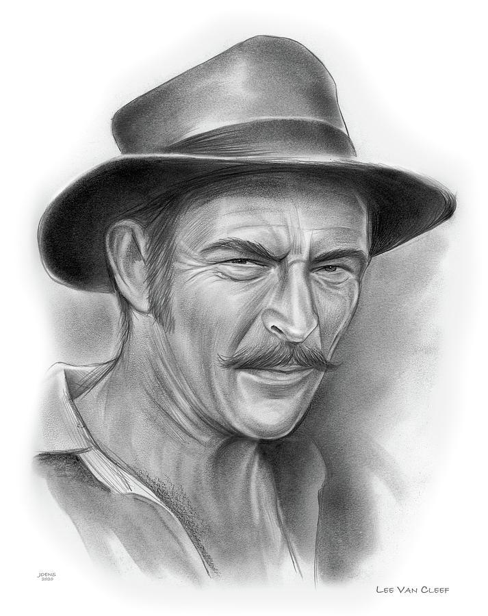 American Drawing - Van Cleef - pencil 12-20 by Greg Joens