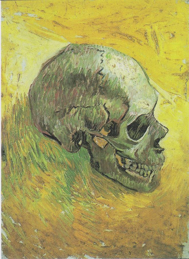Van Gogh Skull 1887 1888 Painting
