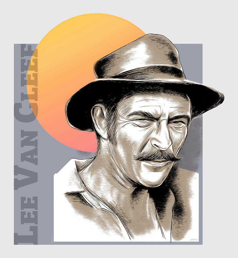Lee Van Cleef Mixed Media - VanCleef - Mixed Media by Greg Joens