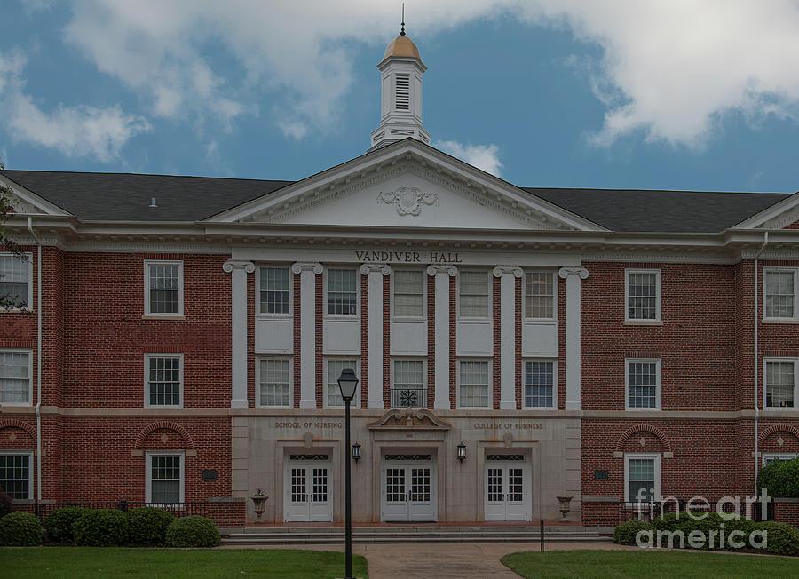 Vandiver Hall - School Of Nursing - College Of Business Photograph