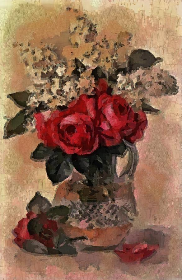 Vase of Flowers for Mother by Mario Carini