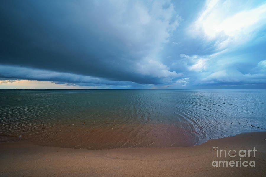 Vast And Stormy Calm Photograph