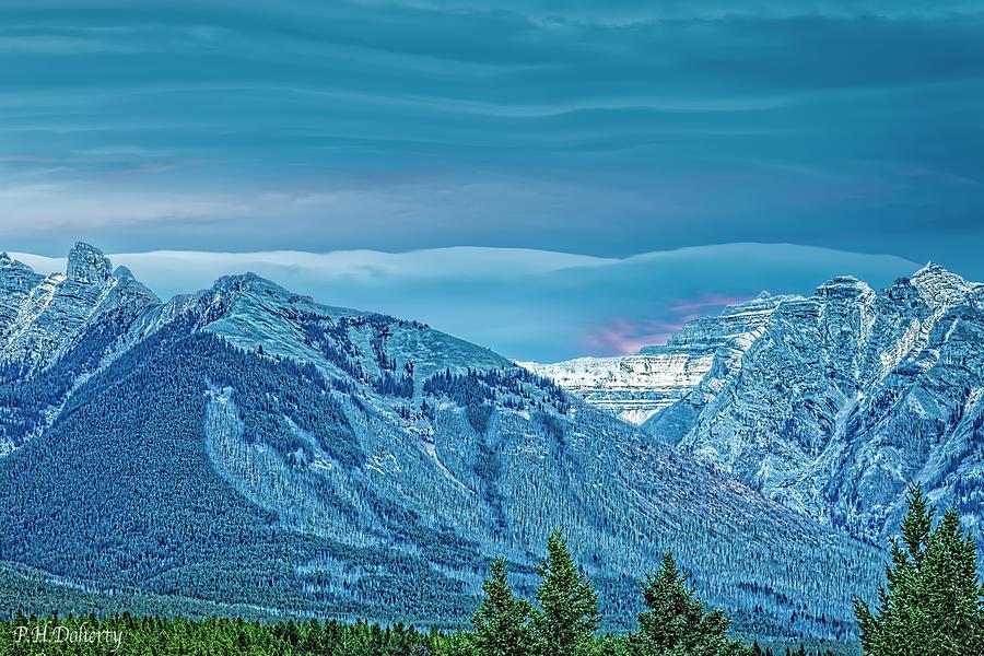 Velvet Sky Over Fairholm Range Photograph