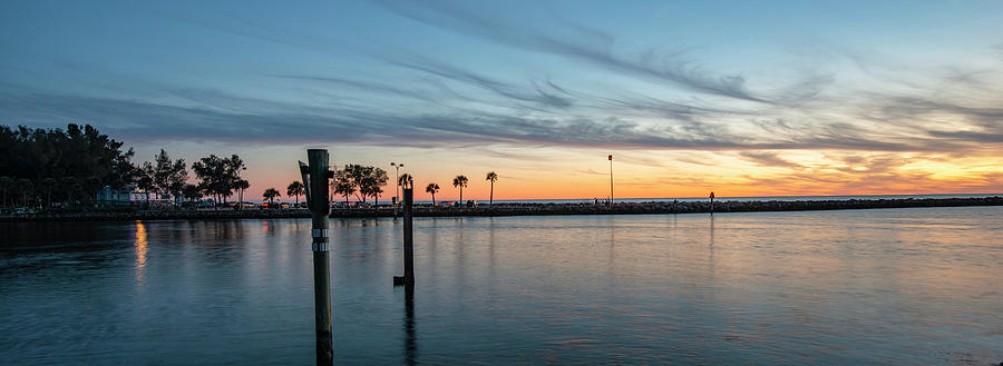 Venice Photograph - Venice Florida South Jetty by Mike Brown