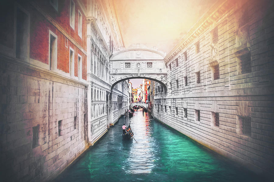 Venice Italy Bridge Of Sighs Photograph