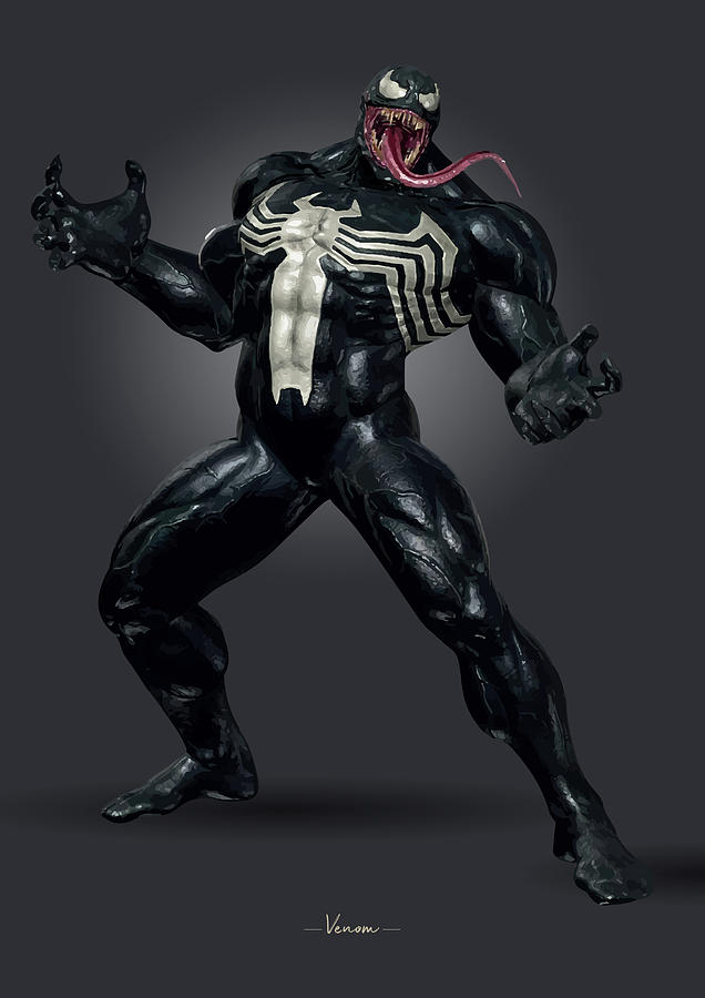 Venom - Marvel Digital Art