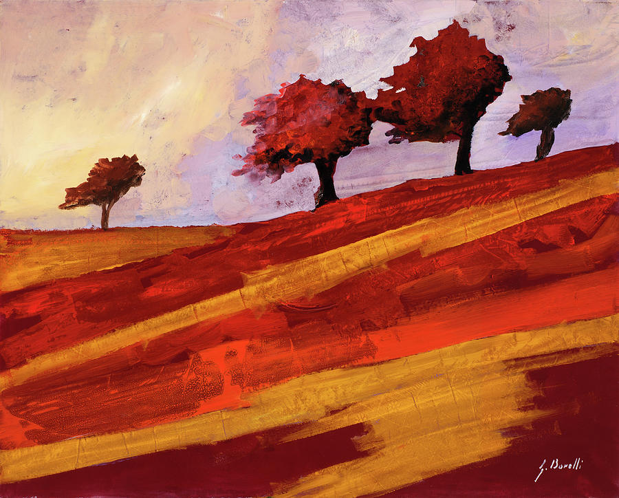 Vento Rosso Painting