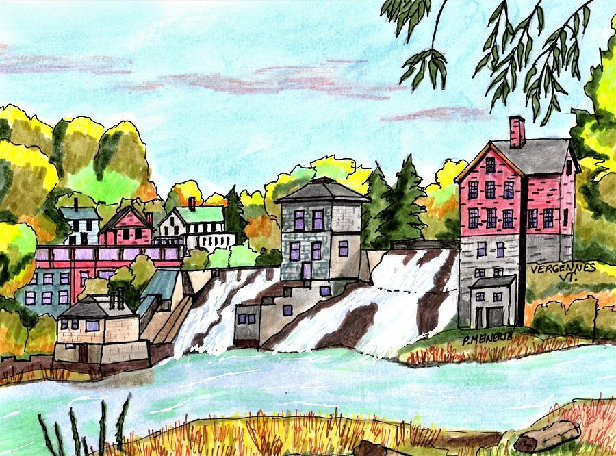 Vergennes Vermont Drawing