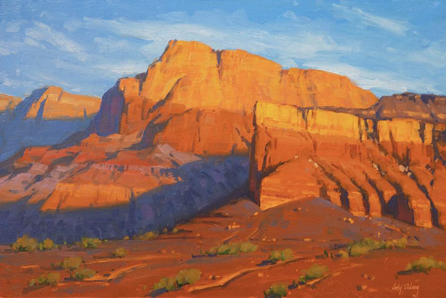 Vermillion Cliffs Morning Painting