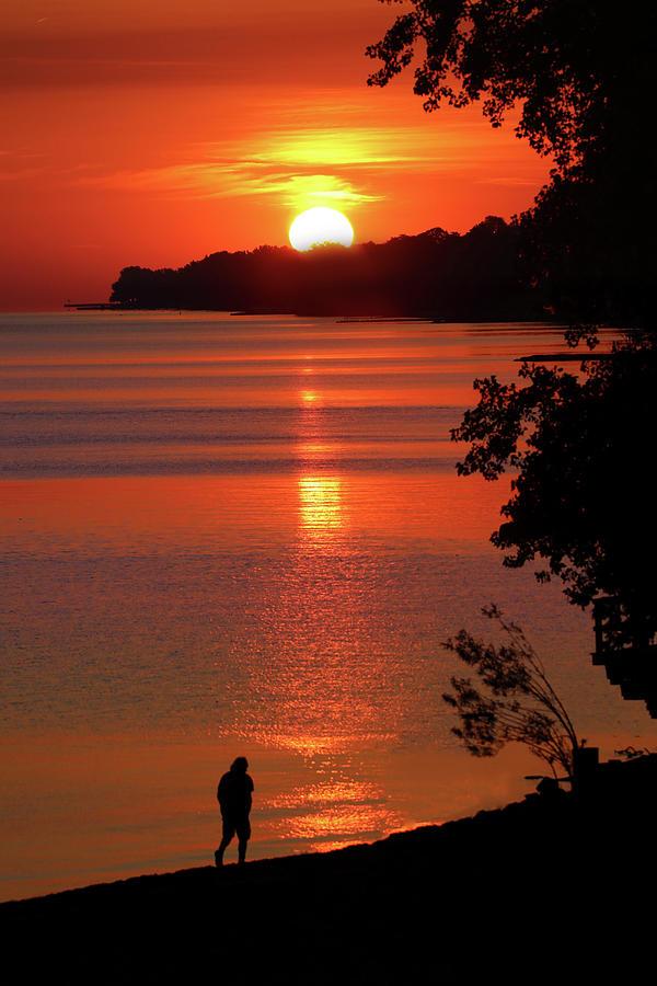 Vermillion Sunrise Photograph by Rob Blair
