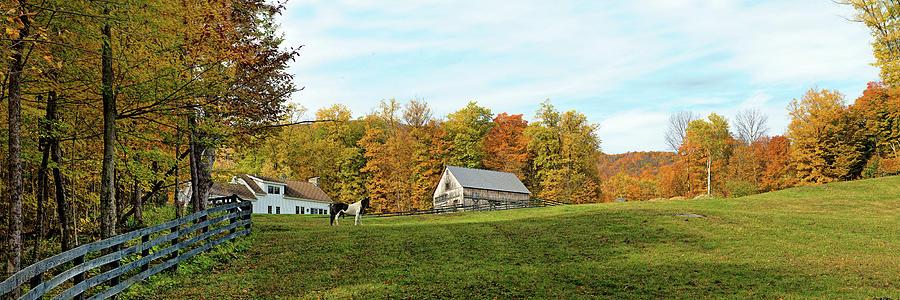 Vermont  Farm Photograph