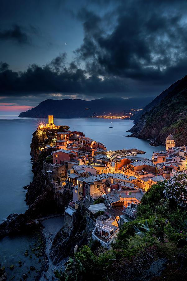 Landscape Photograph - Vernazza by Andrei Dima