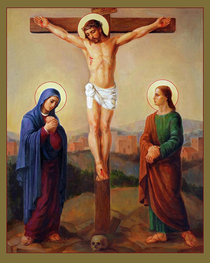 Via Dolorosa - Crucifixion - 12 Painting
