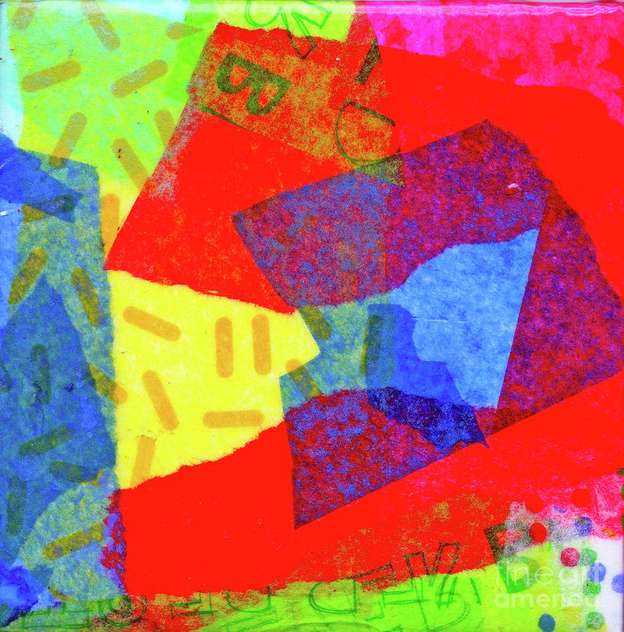 Vibrant Abstract by Genevieve Esson