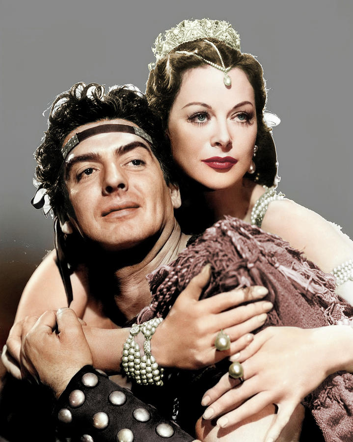Victor Mature And Hedy Lamarr Photograph