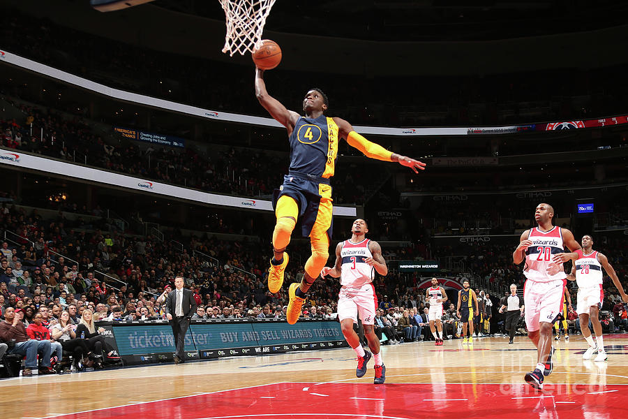 Victor Oladipo Photograph by Ned Dishman