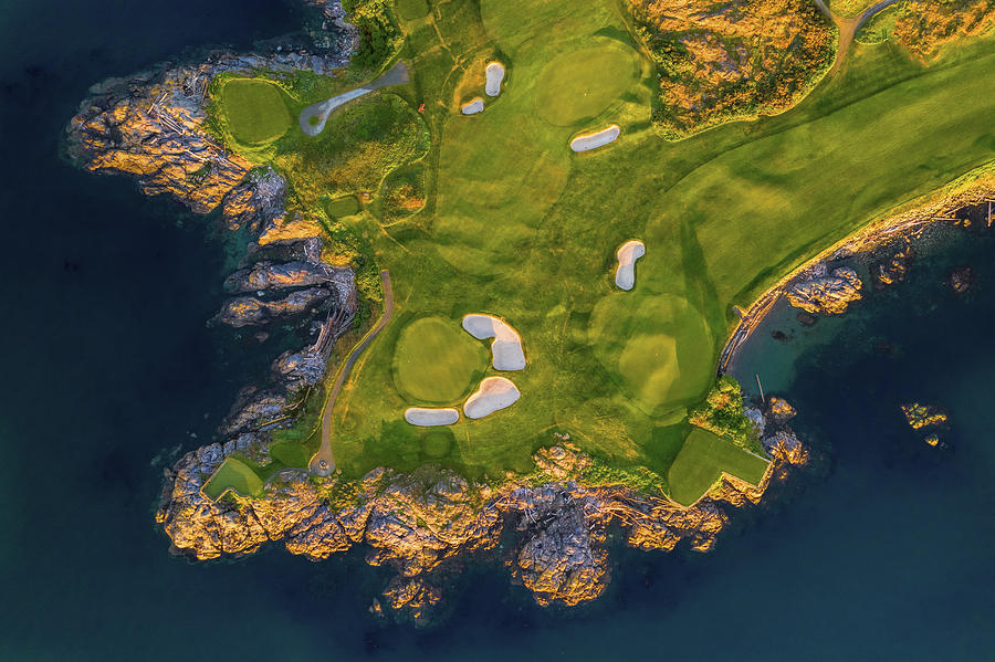 Victoria Golf Club Aerial by Mike Centioli