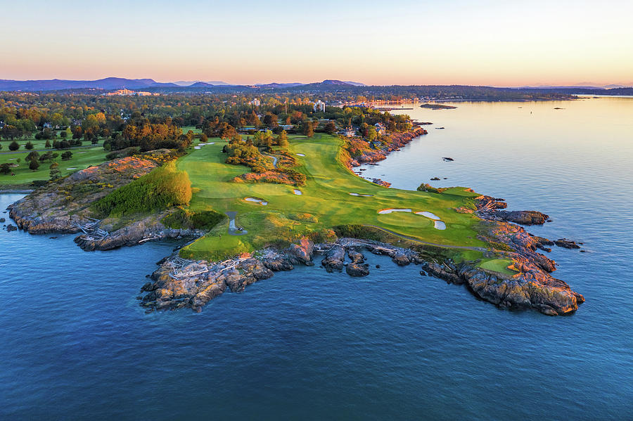 Victoria Golf Club Ocean View by Mike Centioli