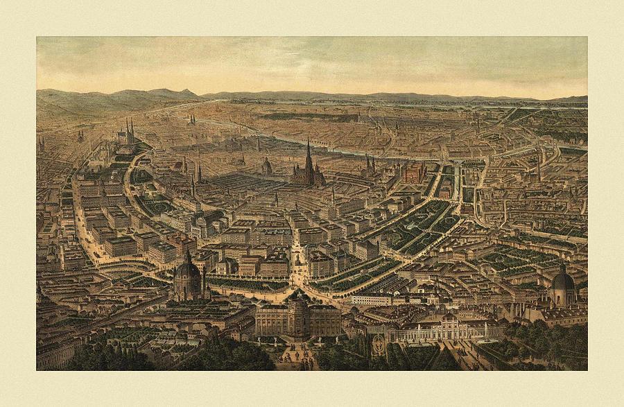 Vienna 1870 Photograph