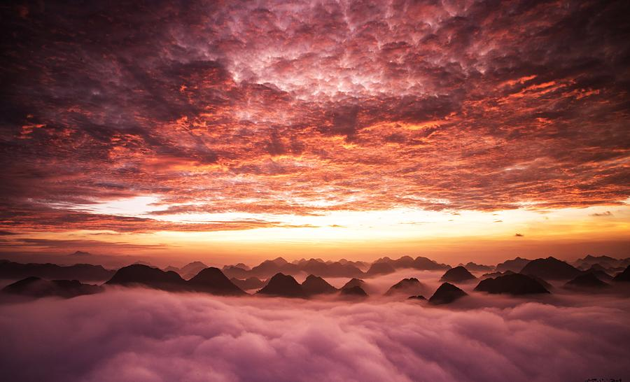 Vietnamese Sunset by Joy of Life Arts