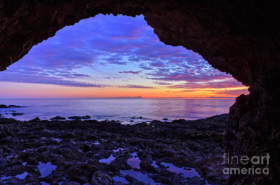View From A Cave by Eddie Yerkish