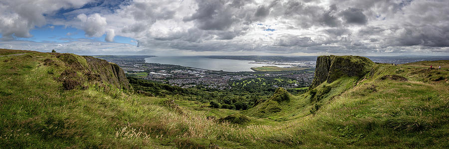View From Cave Hill, Belfast Photograph