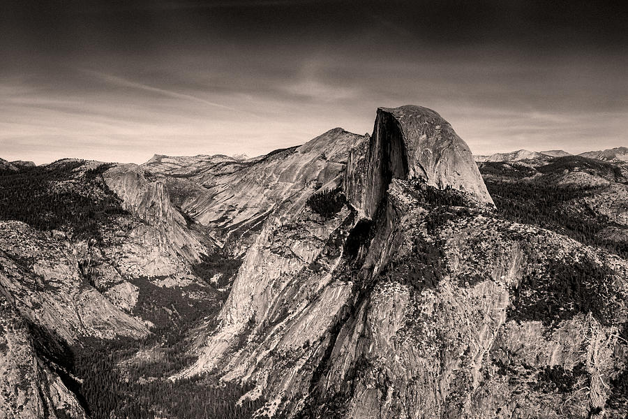 View from Glacier Point by Alessandra RC