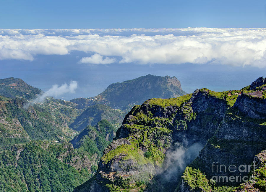 view from Pico Arieiro, Madeira by Mikehoward Photography