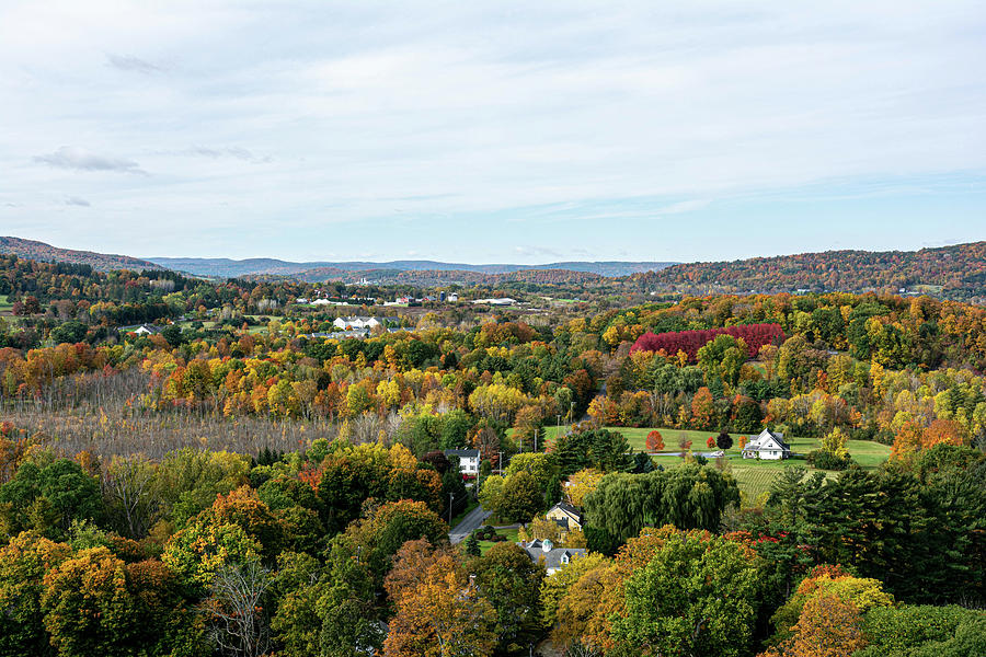 View from the Bennington Battle Monument by Toby McGuire