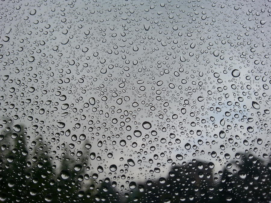 View Of Rain On Window Glass Photograph by Francesco Nacchia / EyeEm