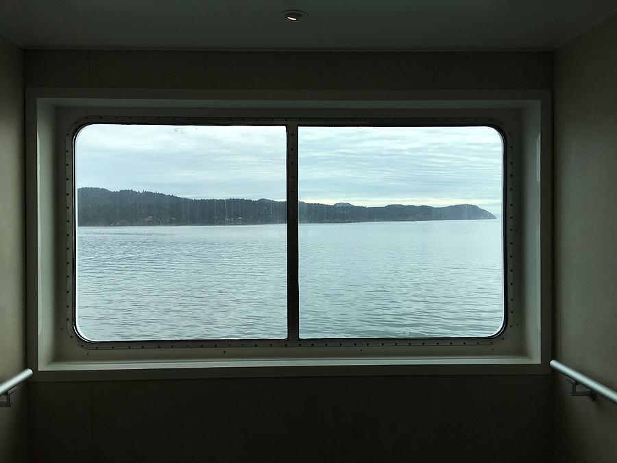 View of sea from window Photograph by Olivija Stoilova / FOAP
