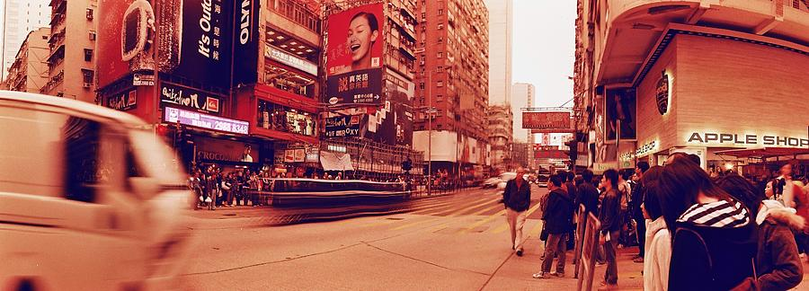 View Of Street With Shops, Commercial Signs And Crowd Photograph by Willie Schumann / EyeEm