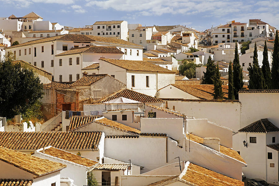 View Of The Andalucian Village Of Ronda Spain Photograph