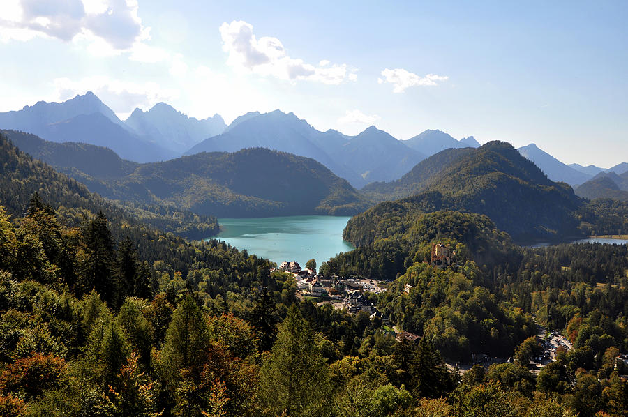 View Of The Bavarian Alps Photograph By My Soul Passion Images