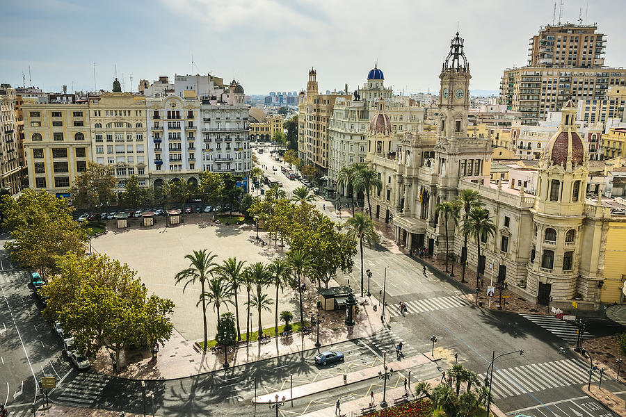 View of Valencia city Photograph by Gonzalo Azumendi