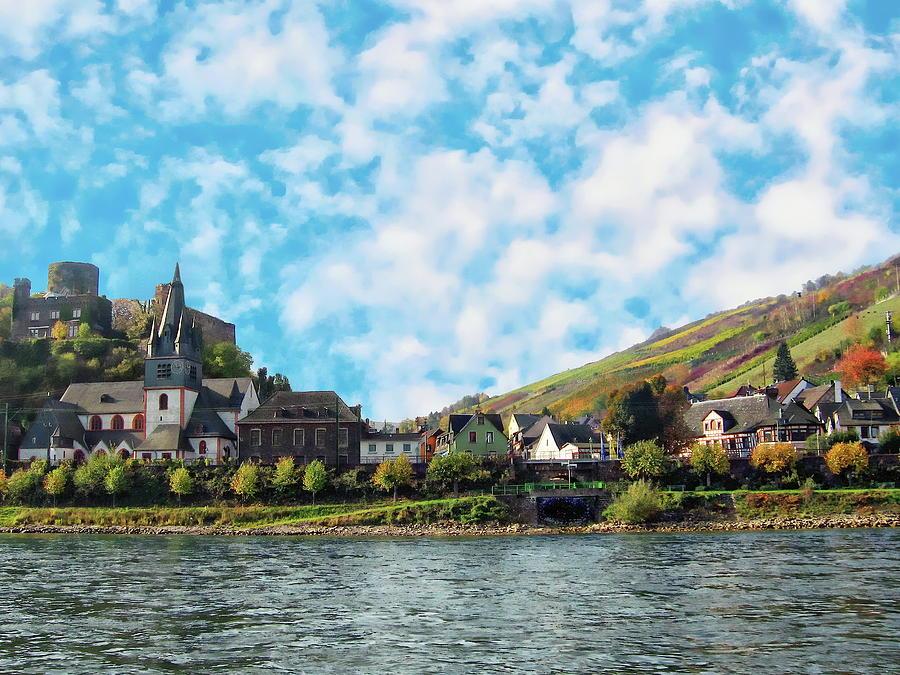 Village of Niederheimbach by Anthony Dezenzio