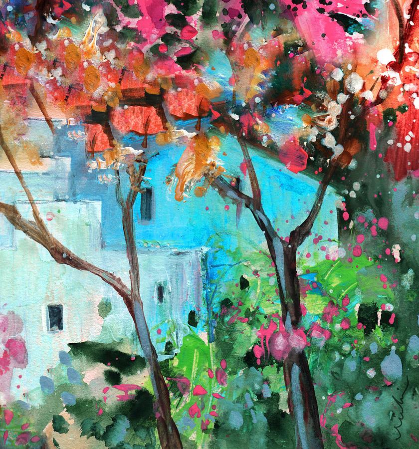 Travel Painting - Villajoyosa 02 by Miki De Goodaboom